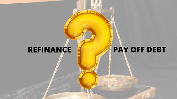 Refinance business debt