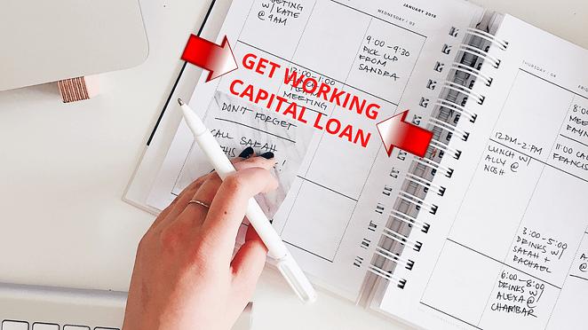Get Working Capital Loan