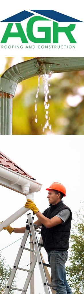 AGR does gutter repair