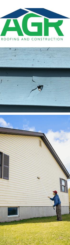 AGR does siding repair