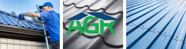 Metal roofing with AGR