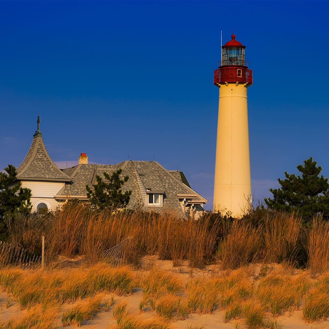 A Brief History Of The Cape May Lighthouses