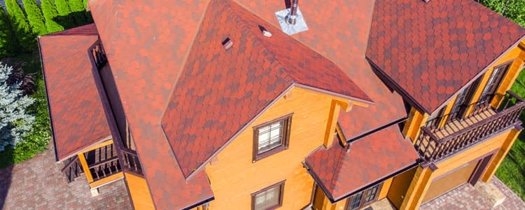 Drone Inspection On Roof