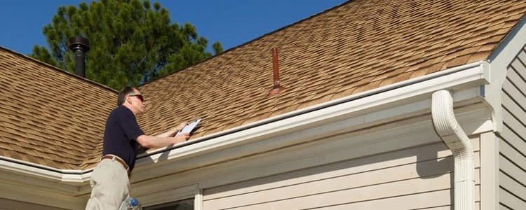 Damaged Roof Inspection