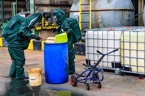 Spill response training course