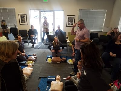 CPR classes in Springfield, Oregon