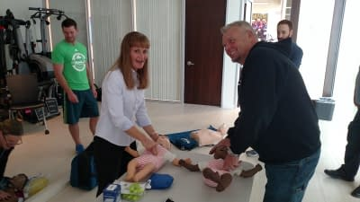 Infant CPR Training in Vancouver Washington