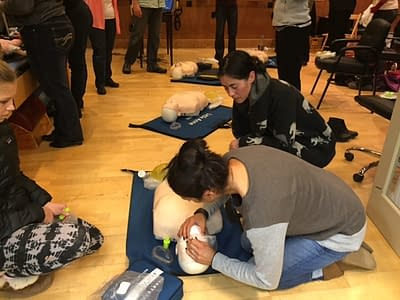 BLS and CPR Training at Hood River Physical Therapy