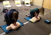 CPR Training at local business in Salem Oregon