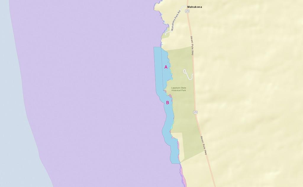 Where-to-spearfish-Big-Island-Lapakahi-State-Park-No-Take