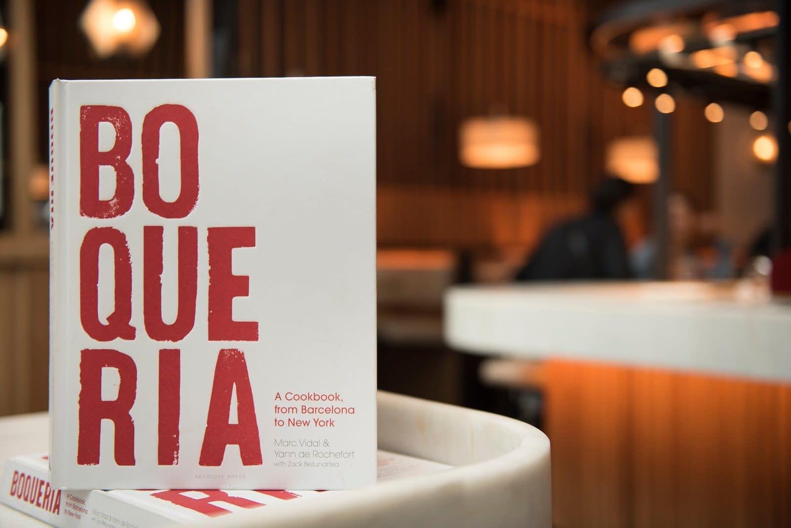 Image of Boqueria Spanish Cookbook.