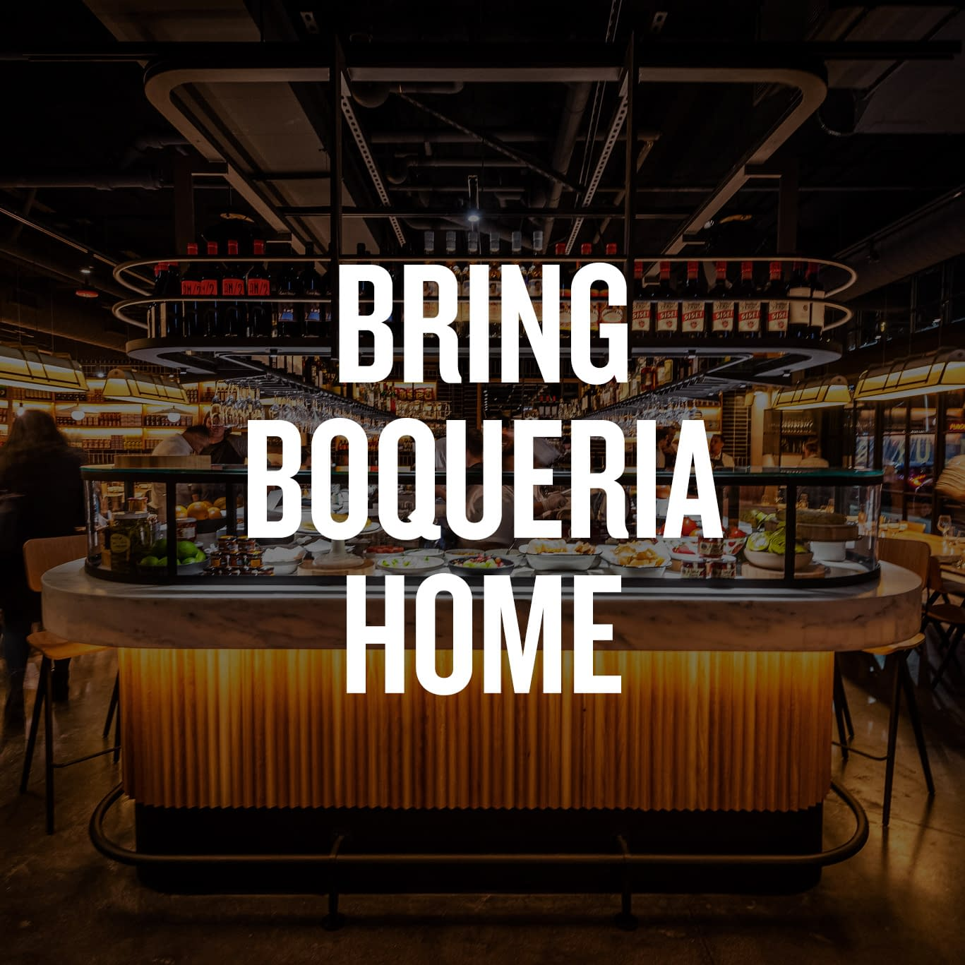 Bring Boqueria Home - Photo of the bar at Boqueria