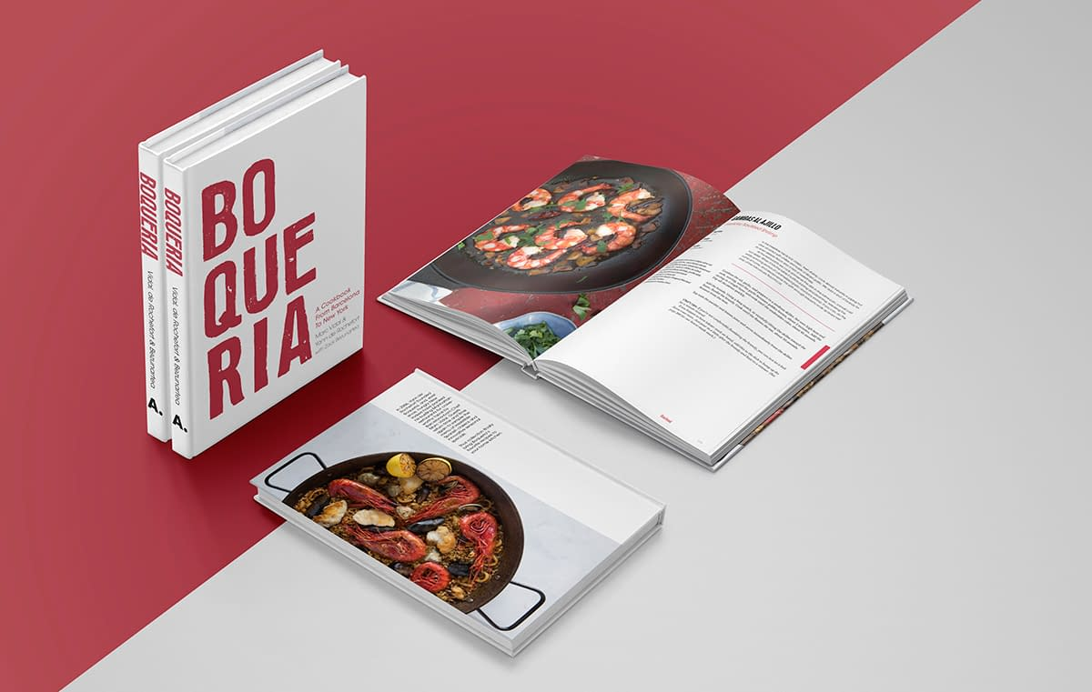 Cookbook of Spanish tapas recipes from Boqueria Spanish tapas restaurant in NYC and DC.