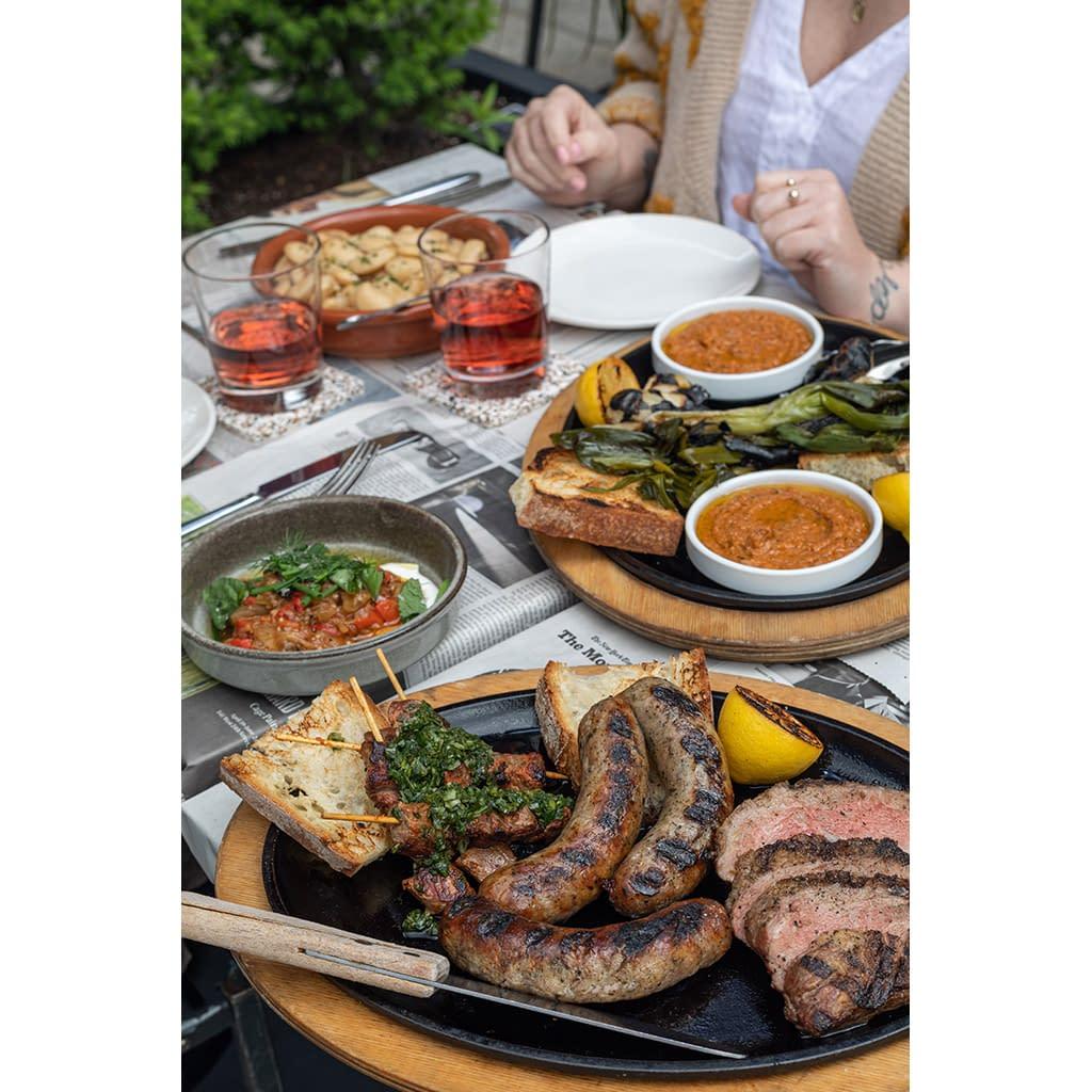 Calçotada Feast - barbequed meats