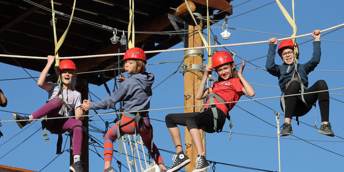 High Ropes Challenge Course 2-hr. Facilitated Adventure