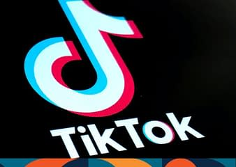 TikTok logo with Booyah Advertising logo