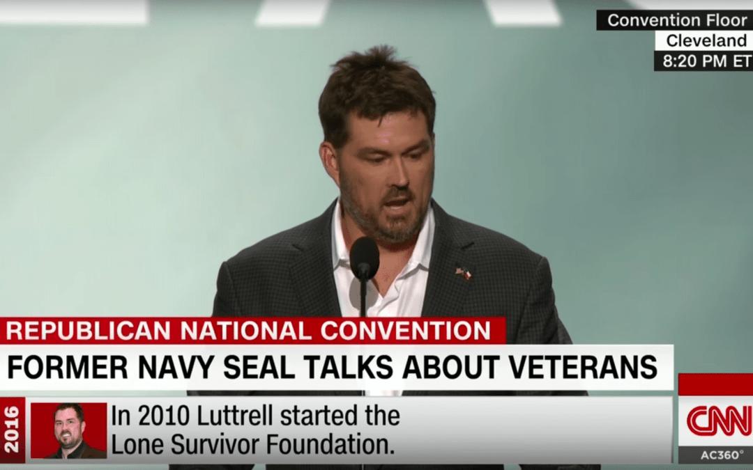 Navy SEAL Marcus Luttrell Highlights Veteran Rights with Fiery RNC Speech