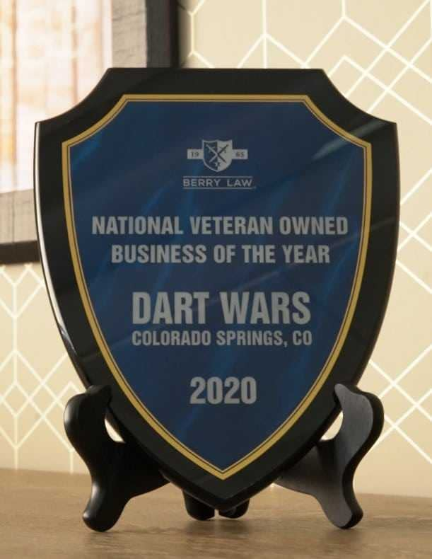 Berry Law Announces First Recipient of its National Veteran Owned Business of the Year Award