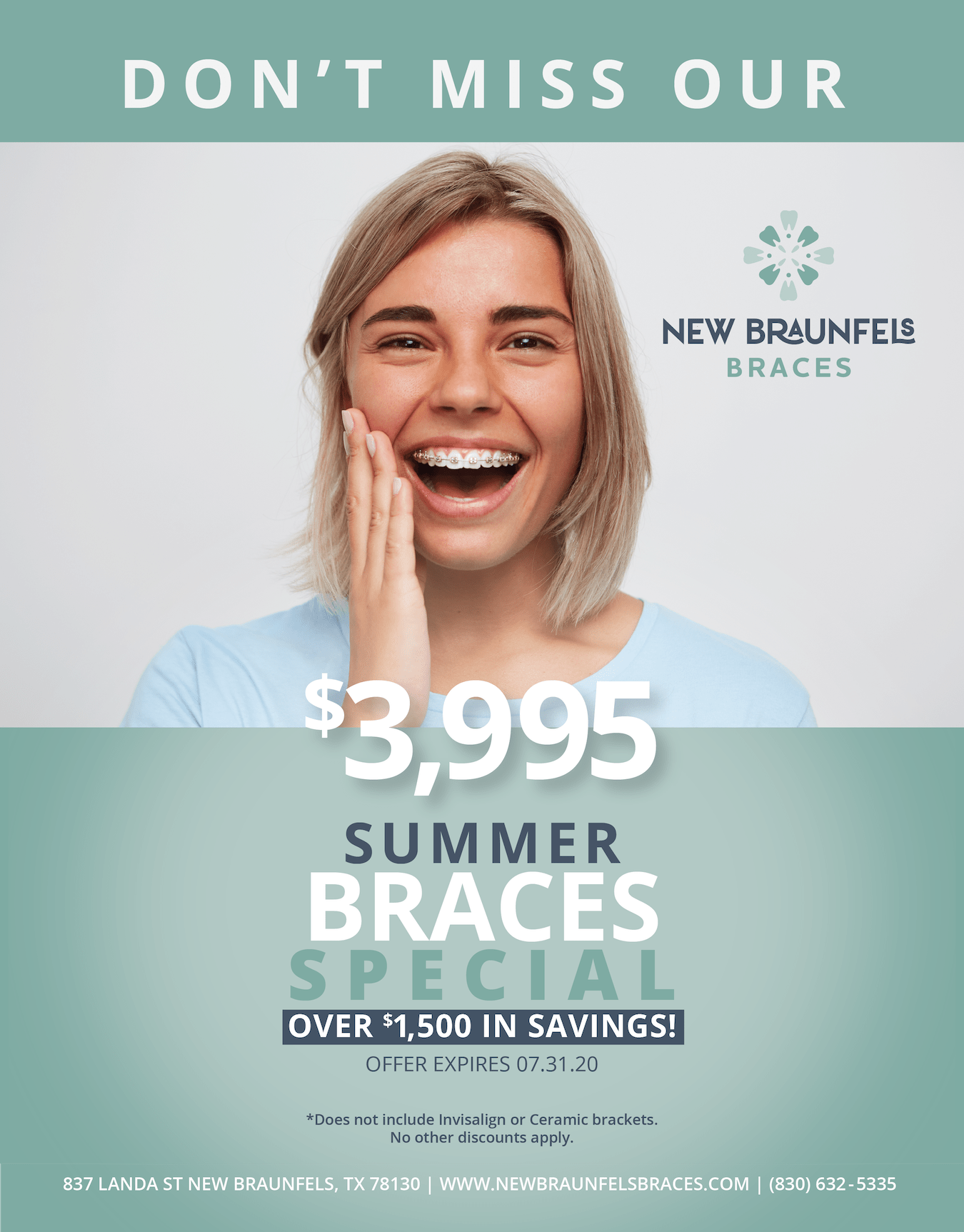braces special new braunfels