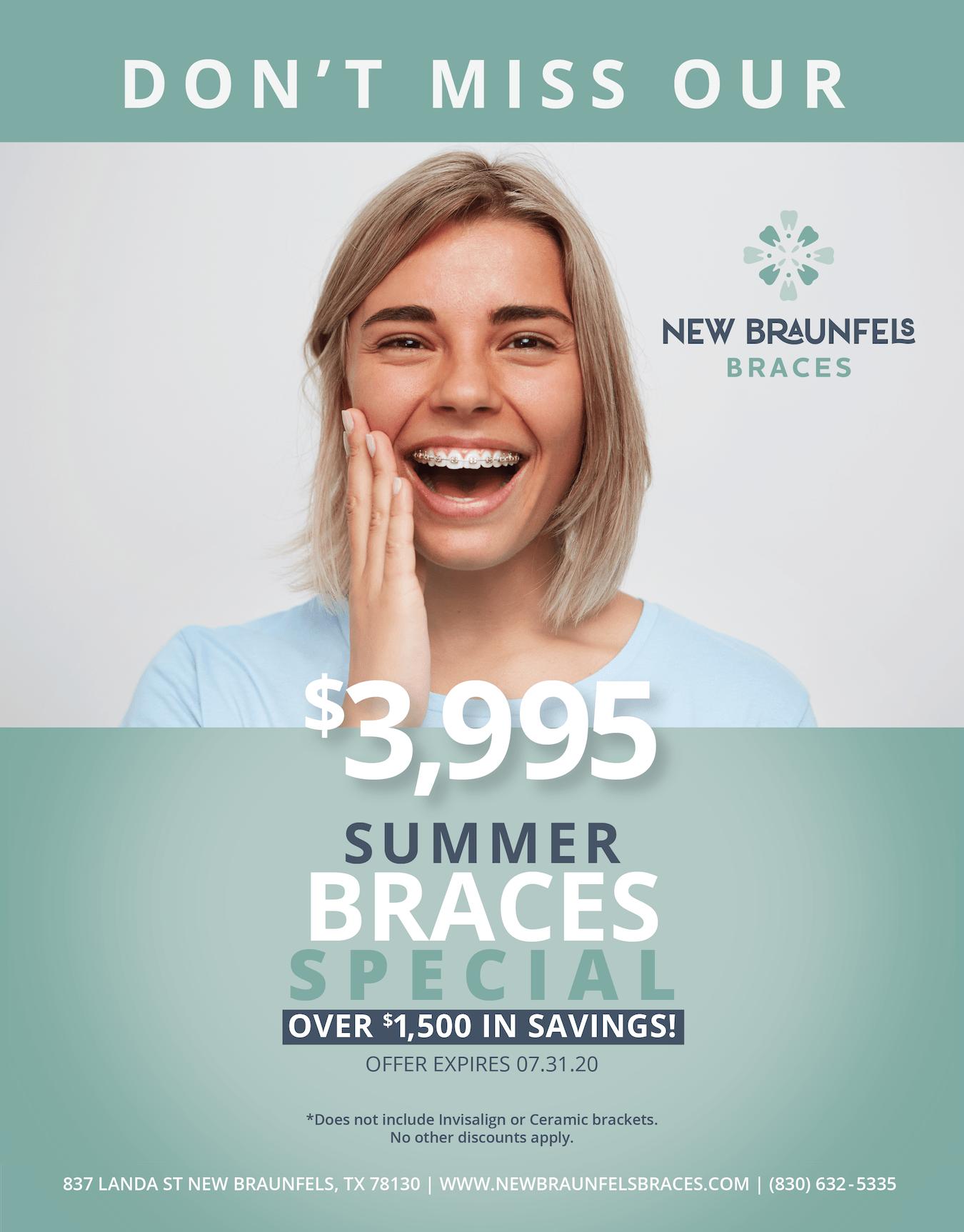 braces special new braunfels