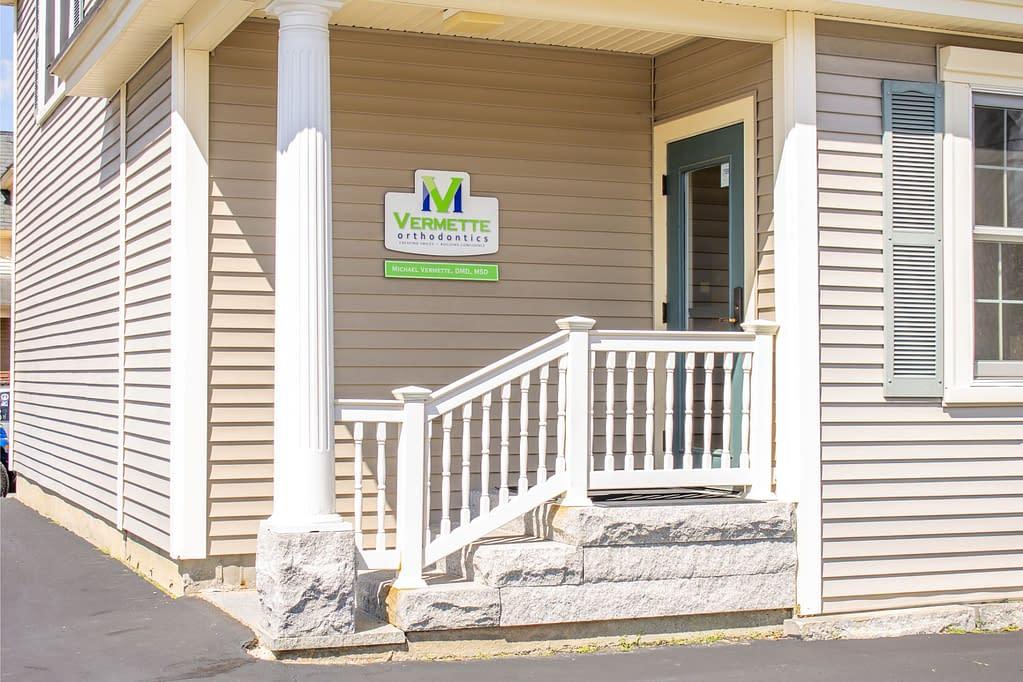 Vermette orthodontics office exterior