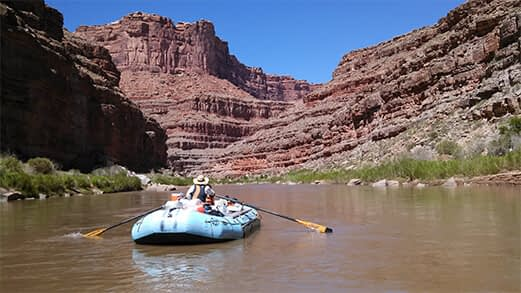 4-day River Journey – Mexican Hat to Clay Hills
