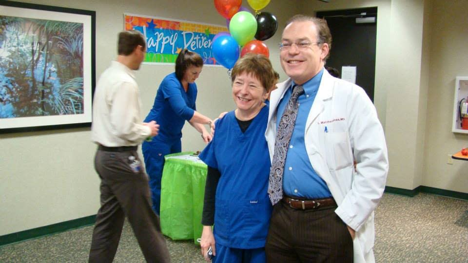 Joyce and Dr. Jones
