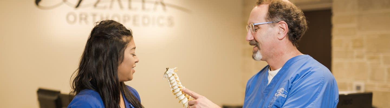 Azalea Orthopedics helps to relieve your spine pain.