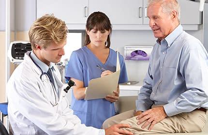 Our knee orthopedists help treat common knee injuries.