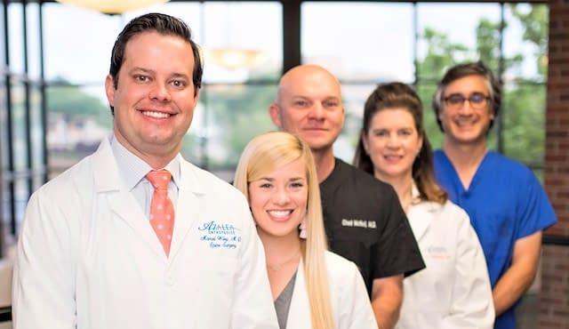 Dr. Wiley & associates of Azalea Orthopedics.