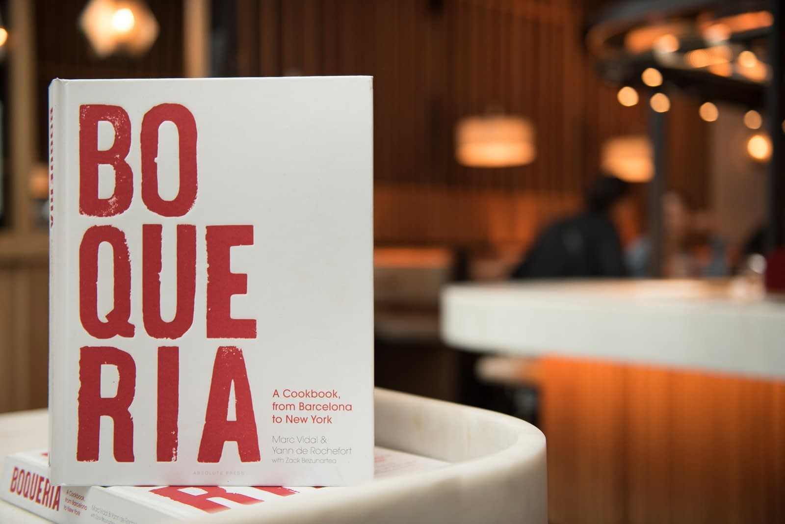 Image of Boqueria Spanish Cookbook.