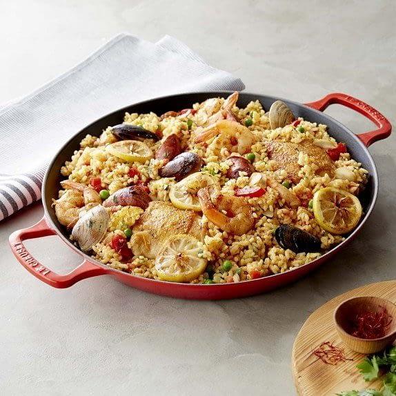 Le Creuset Paella Pan from William Sonoma
