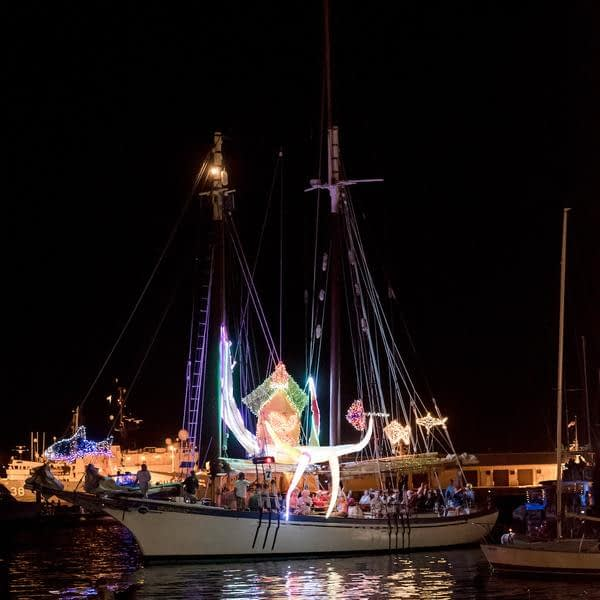 Appledore II Wows the 2015 Key West Lighted Boat Parade