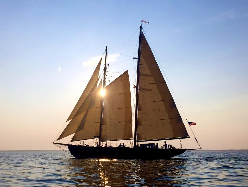 2hr Sunset Sail on When and If